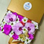 Цветы в коробке Autunno