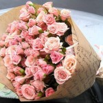 Букет кустовых роз Для тебя