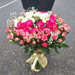 Букет из кустовых роз Con Amore