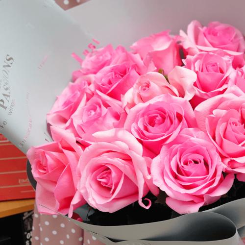 Букет из 15 роз Нежная Ирма