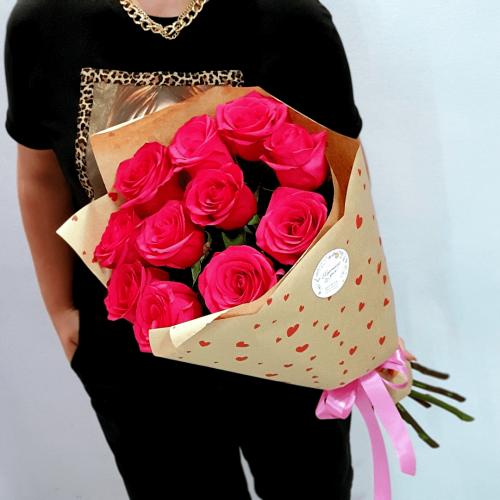 Букет из 11 роз Lusso
