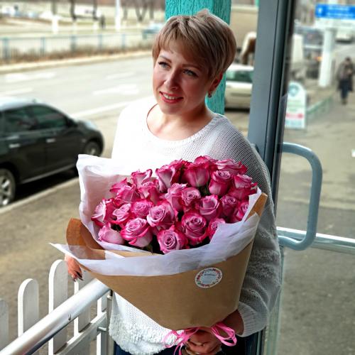 Букет из 25 роз Buongiorno